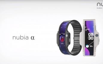 Nubia A är en smartphone på handleden