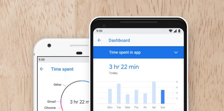 Googles app Digital Wellbeing nu som beta till Pixeltelefoner