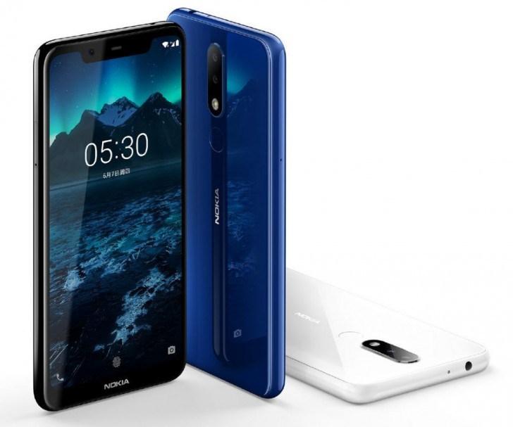 Nokia 5.1 Plus verifieras i fem nya modeller