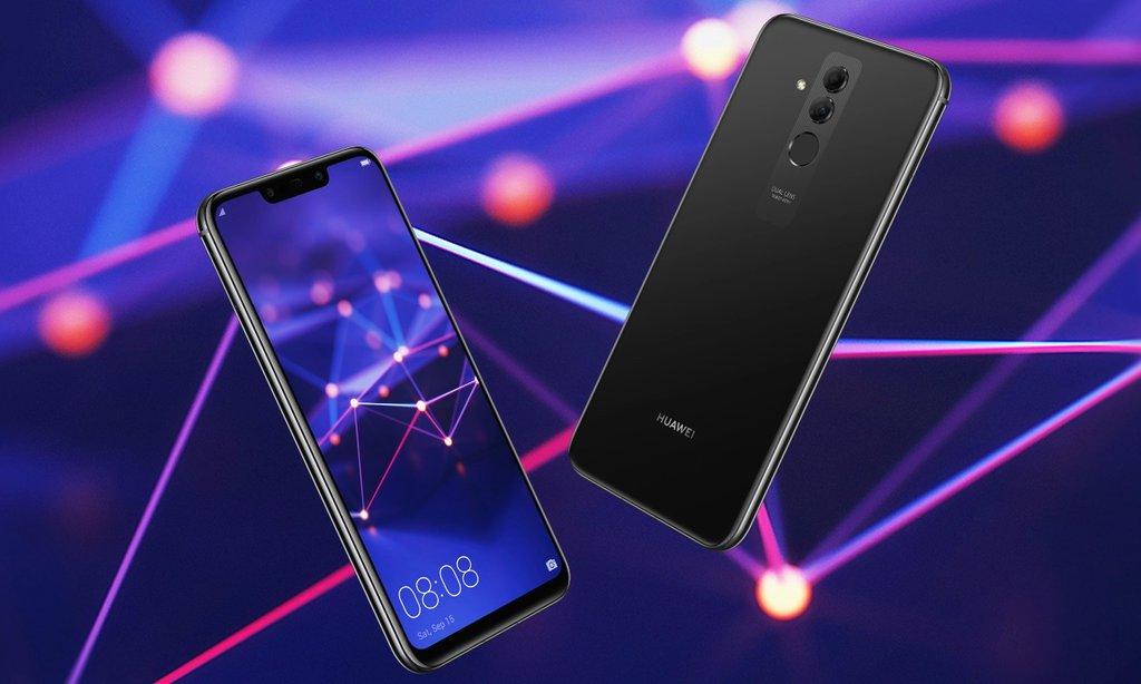 Huawei presenterar Mate 20 Lite