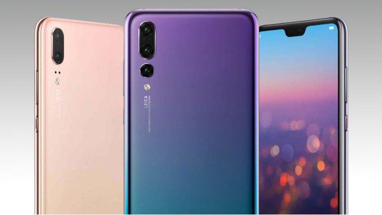 Huawei P20-serien kommer i två nya kulörer 31 augusti
