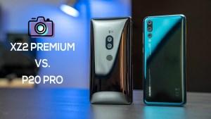 Hur bra kamera har Xperia XZ2 Premium mot P20 Pro?