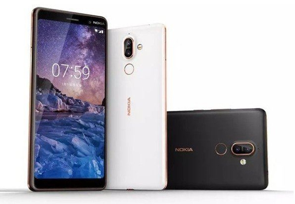 Nokia 7 Plus matas med ny Pie-uppdatering