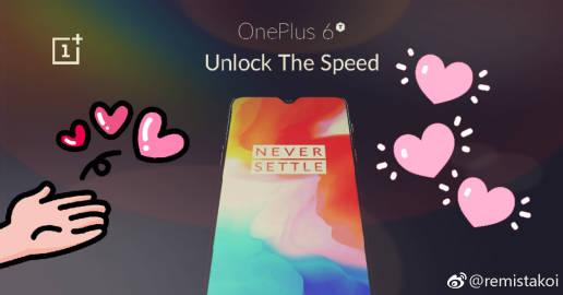 Bild läcker ut på OnePlus 6T