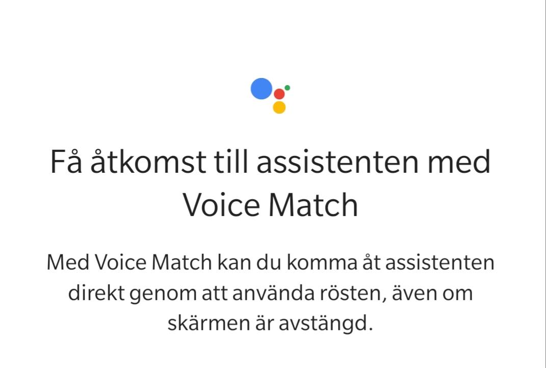 OnePlus 6 får stöd för Voice Match