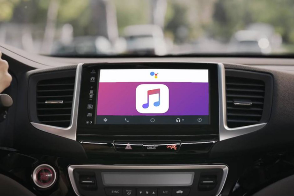 Apple Music finns nu till Android Auto