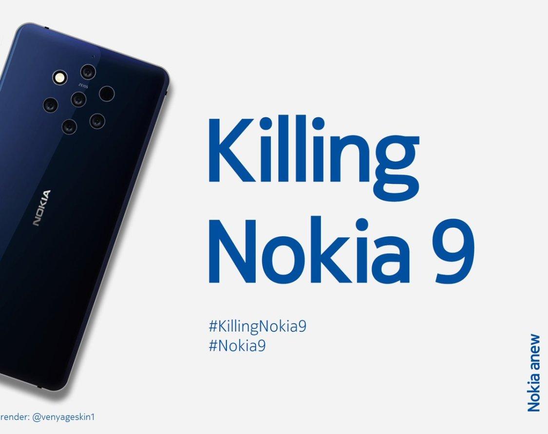 Juho Sarvikas: Nokia 9 lanseras på MWC 2019