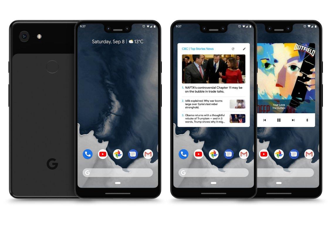 Läckta Google Pixel 3 XL kan vara ett skämt