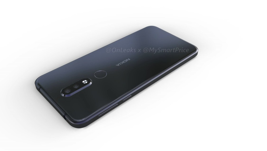 Nokia 7.1 Plus läcker ut via rendering