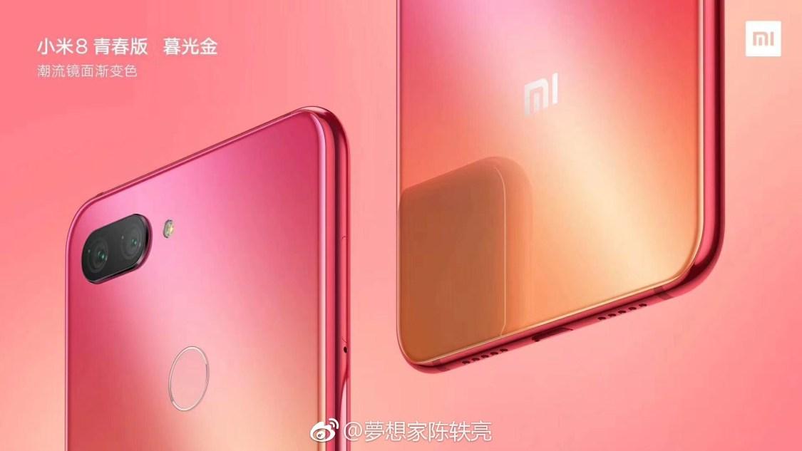 Samlade pressbilder på Xiaomi Mi 8 Youth