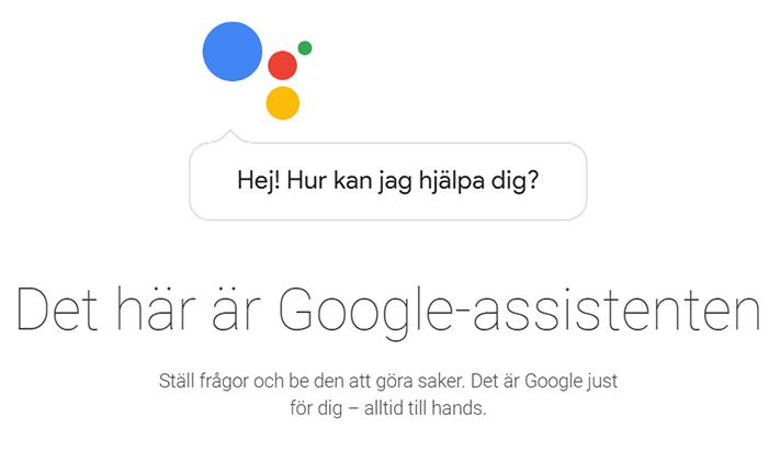 Google Assistent anländer!