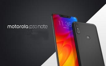 Motorola presenterar P30 Note
