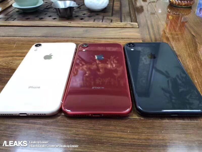 iPhone 9 läcker ut i samtliga kulörer