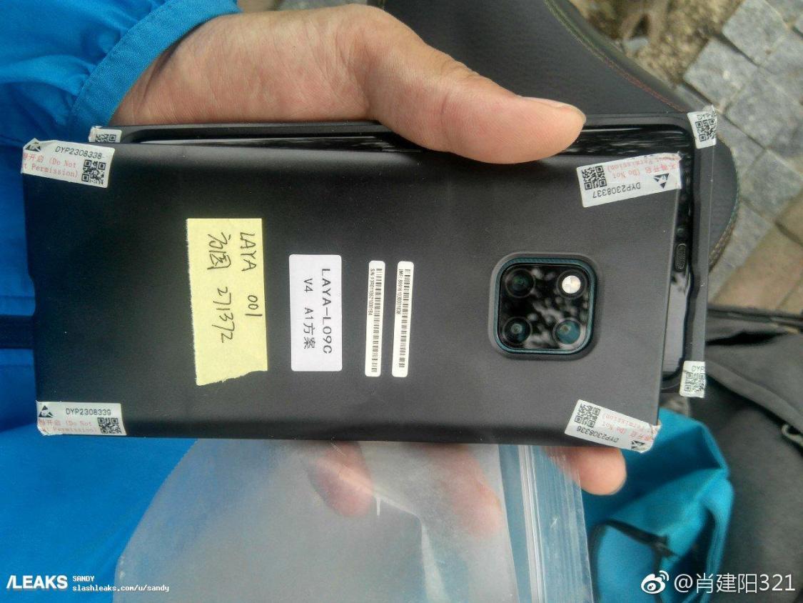 Huawei Mate 20 Pro dyker upp på nytt