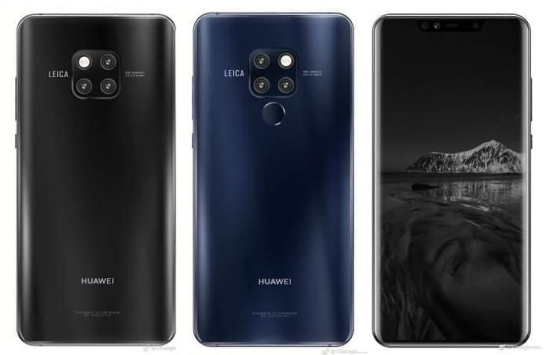 Pressbild på Huawei Mate 20 och Mate 20 Pro