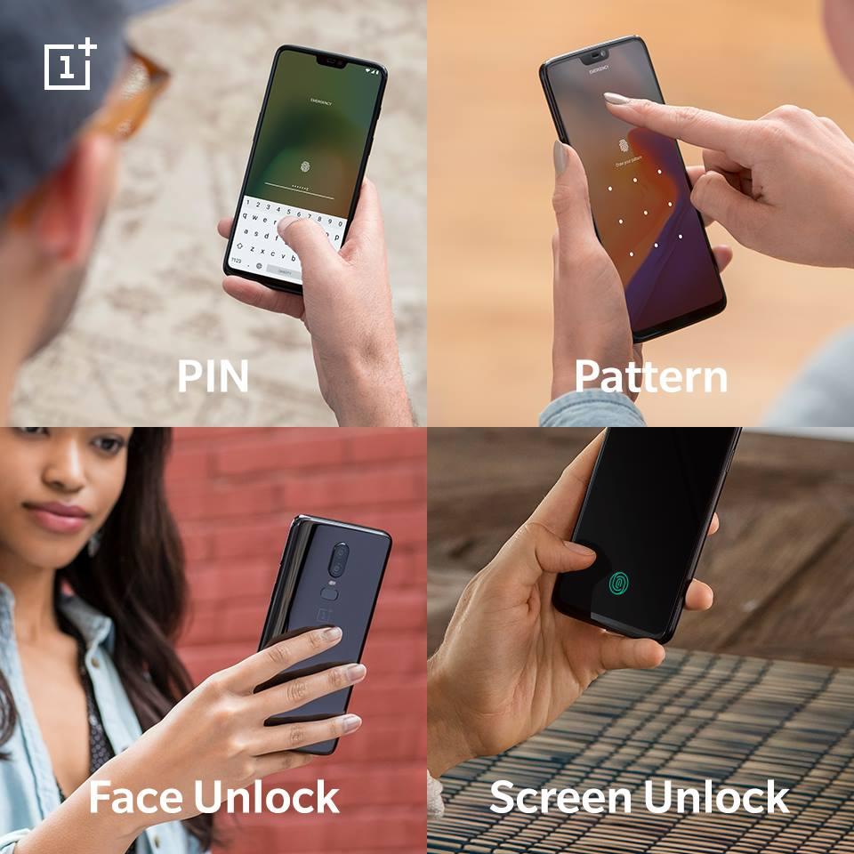 """OnePlus bekräftar återigen läsaren under displayen i """"6T"""""""
