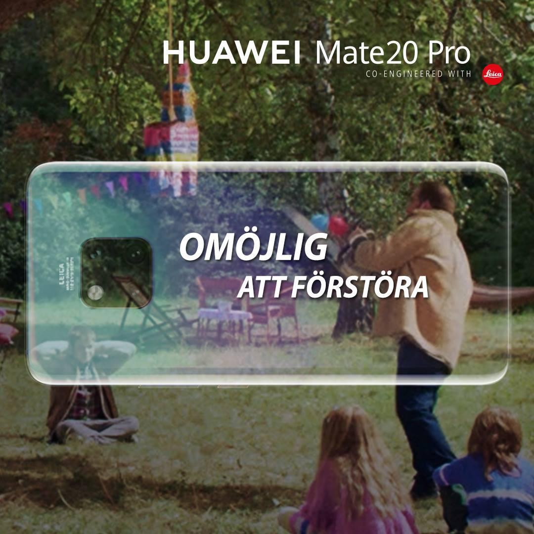 """Huawei Mate 20 Pro är inte """"säker och smidig"""" (åsikt)"""