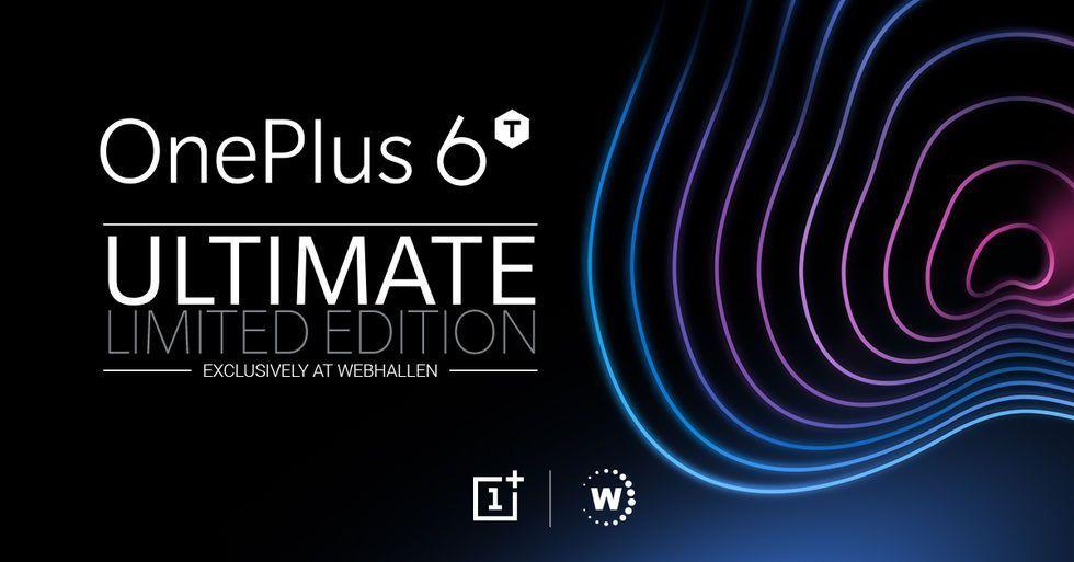 Imorgon får vi veta mer om OnePlus och Webhallens exklusiva variant av OnePlus 6T!