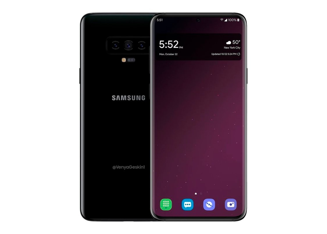 Minst 6 GB RAM i Samsung Galaxy S10 (spekulation)