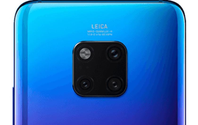 Så här ser Huawei Mate 20 Pro ut i blått!