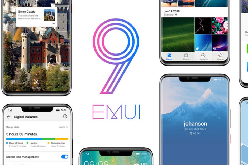 Huawei snackar om gränssnittet EMUI 9