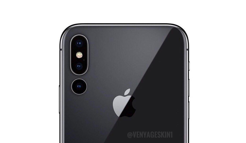 Kommer iPhone Xs Max (2019) få tre bakre kameror?