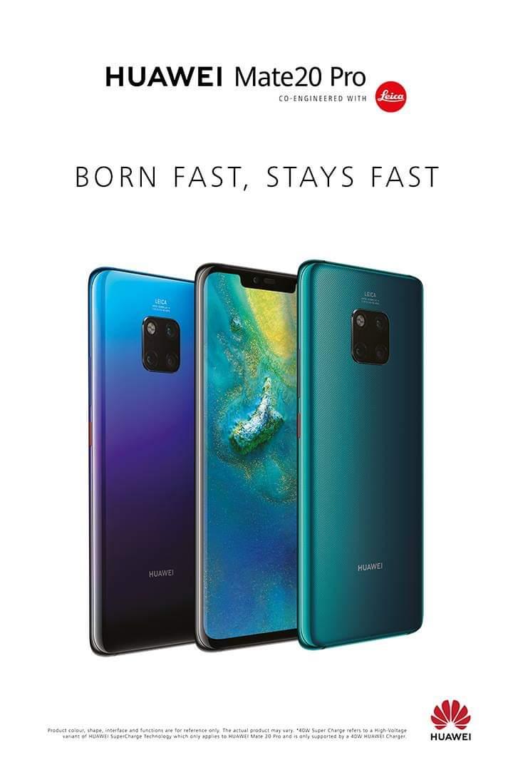 Huawei Mate 20 Pro kommer aldrig bli slö!