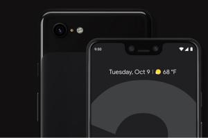 Google Pixel 3 XL har problem med displayen