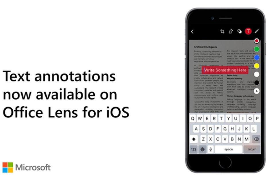Microsoft Lens uppdateras