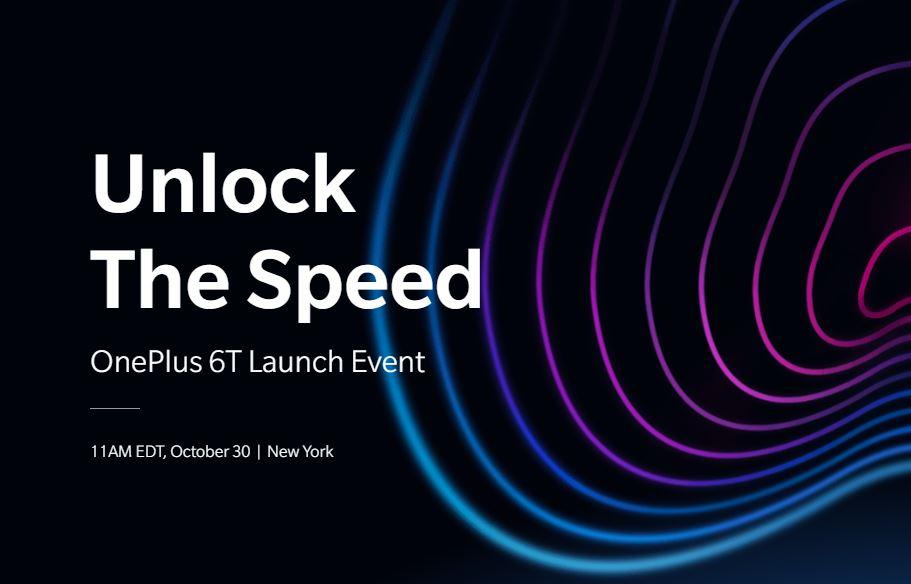 Köp OnePlus 6T den 6 november!