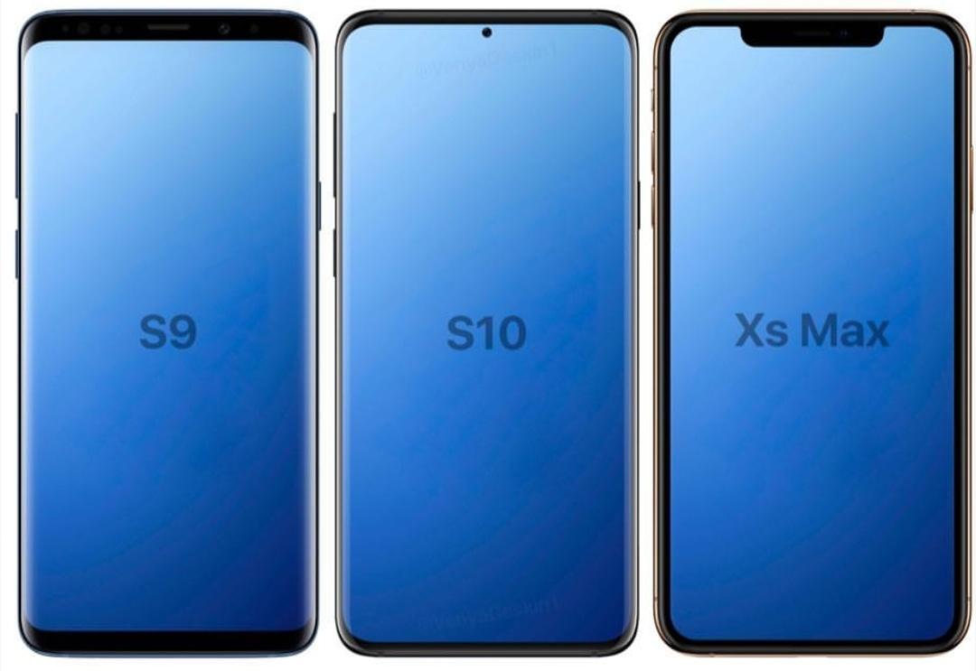 Så står sig Samsung Galaxy S10 mot Galaxy S9 och iPhone XS Max