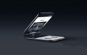 Samsung Galaxy F1 kan få en V-formad display