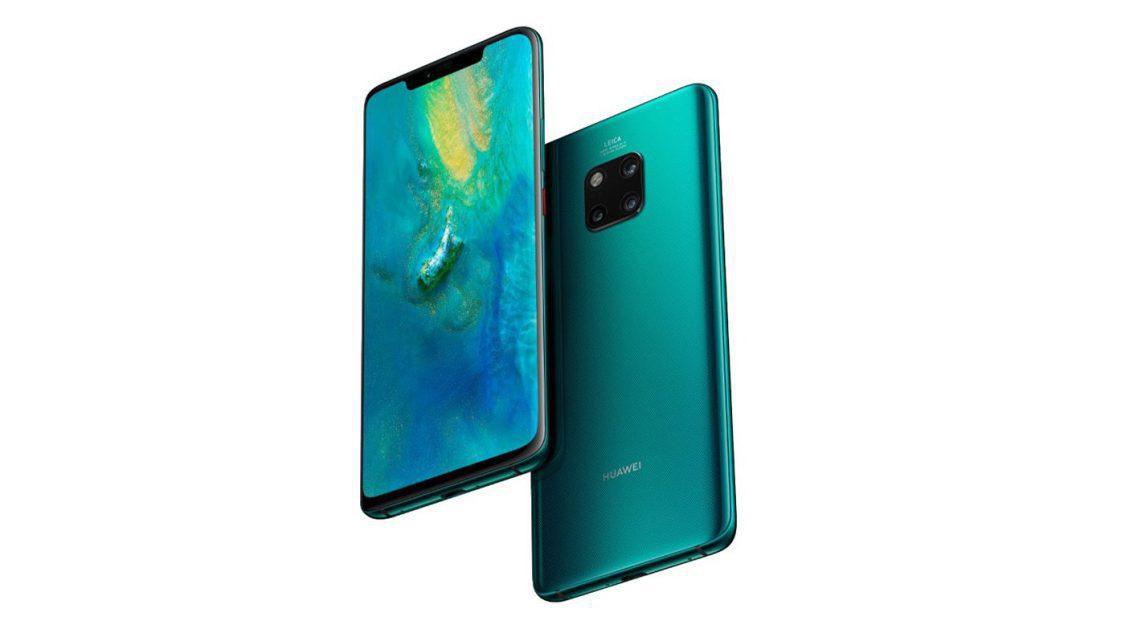 "Unboxing på Huawei Mate 20 Pro i färgen ""Emerald Green"""