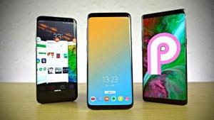 Så här ser de nya svepgesterna ut i Android 9 Pie på Samsung Galaxy Note 9