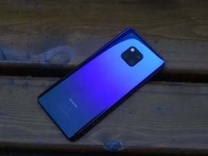 Huawei Mate 20 Pro har en vidvinkelkamera