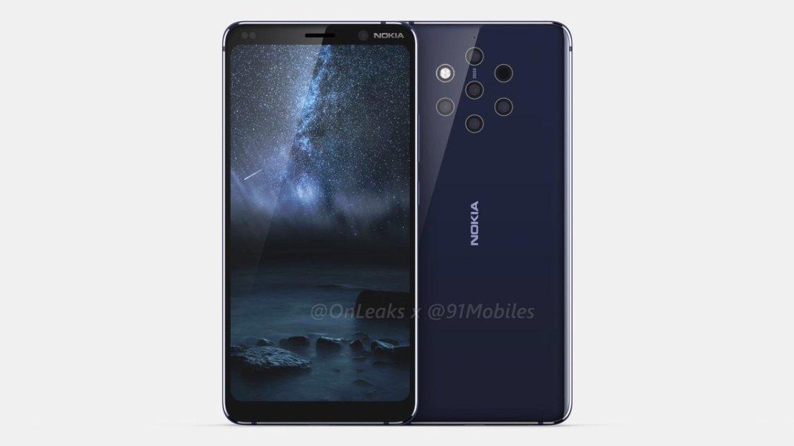 Specifikationerna till Nokia 9 PureView läcker