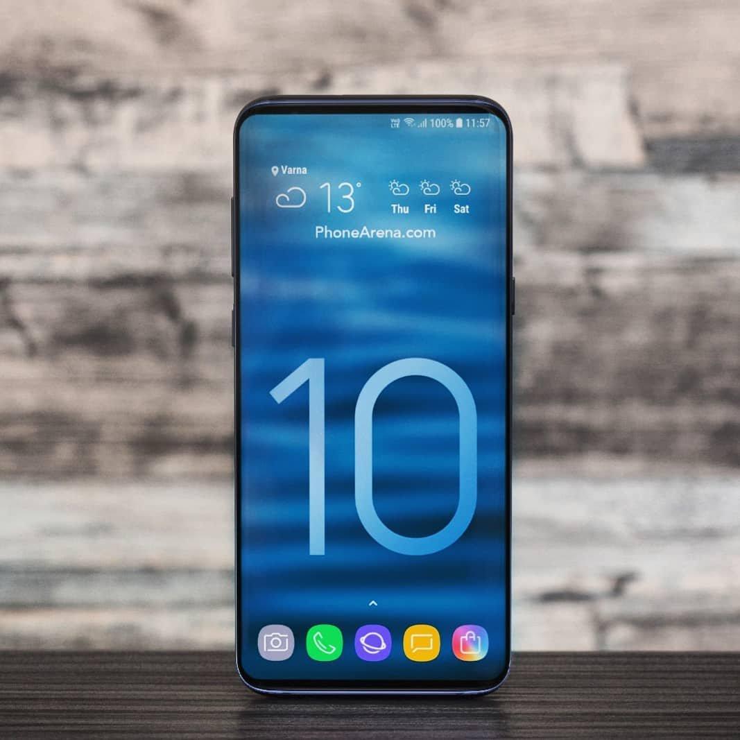 Det här är den trovärdigaste bilden på Samsung Galaxy S10 hittills!