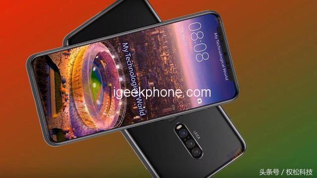 Konceptbilder på Huawei P30 Pro