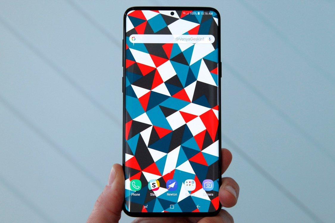 Geskin: det här är Samsung Galaxy S10!