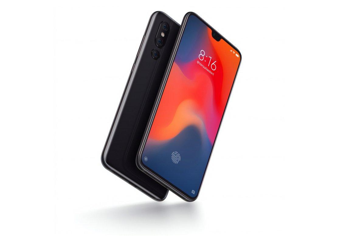 Kommer Xiaomi Mi9 se ut så här?