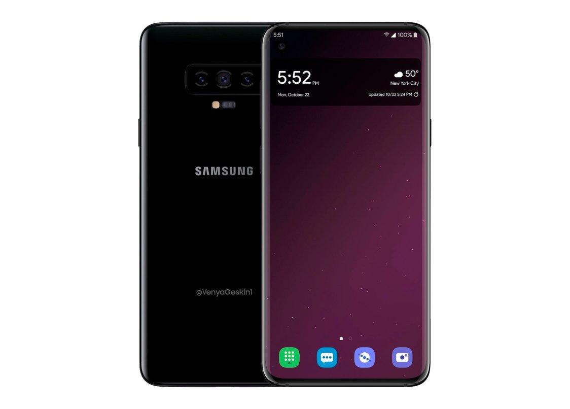 Ännu en konceptbild på Samsung Galaxy S10