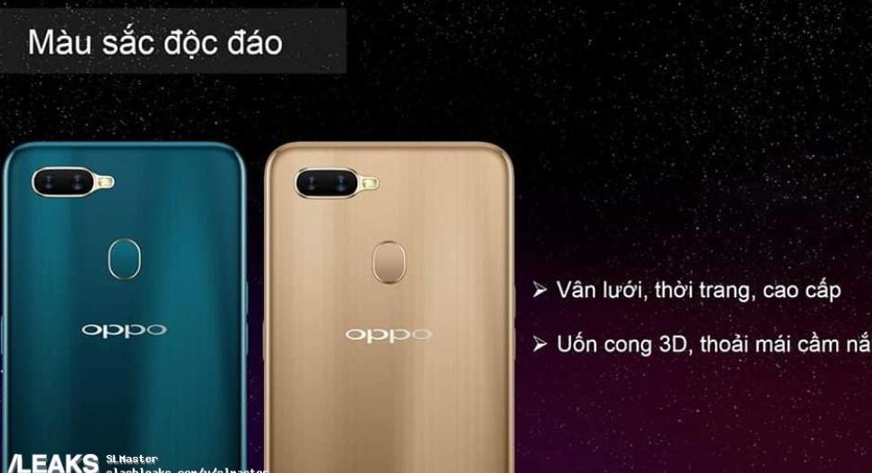 Produktbilder på OPPO A7