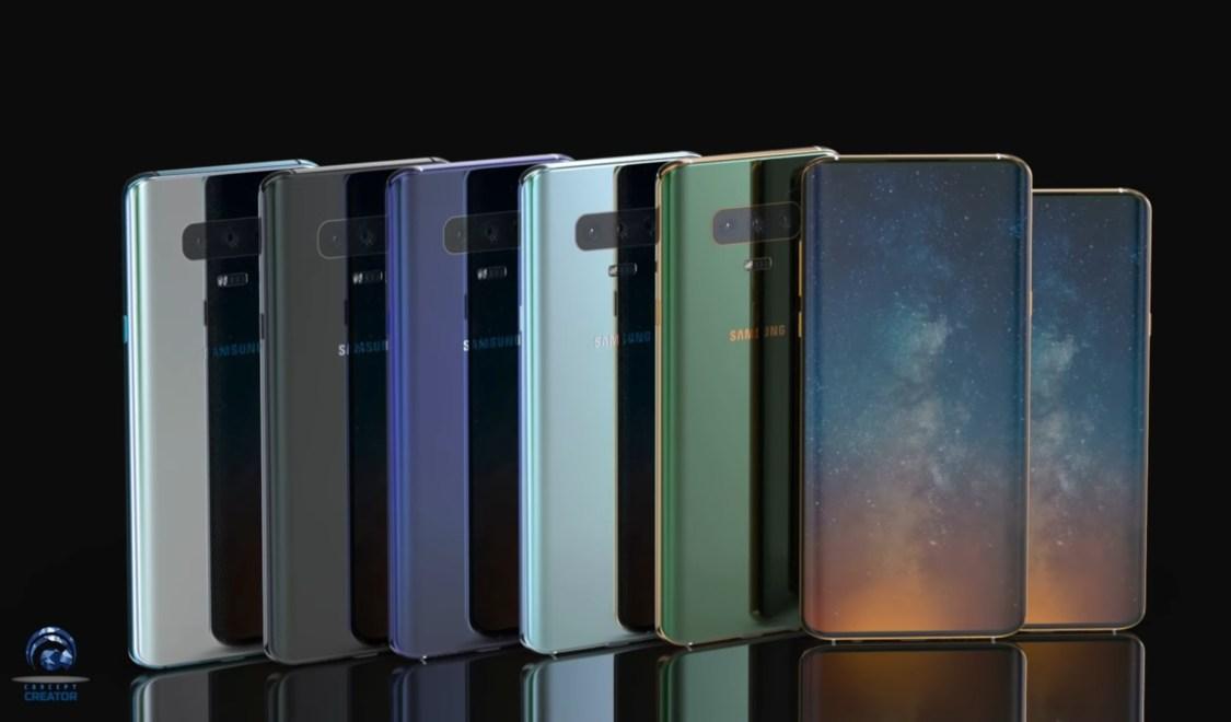 Är det här Samsung Galaxy S10?