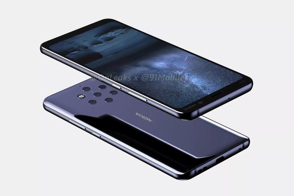Skal visar att Nokia 9 PureView kan komma att få fem kameror på baksidan!