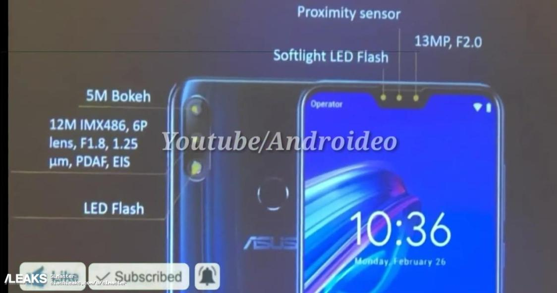 Nya bilder dyker upp på ASUS Zenfone Max Pro M2