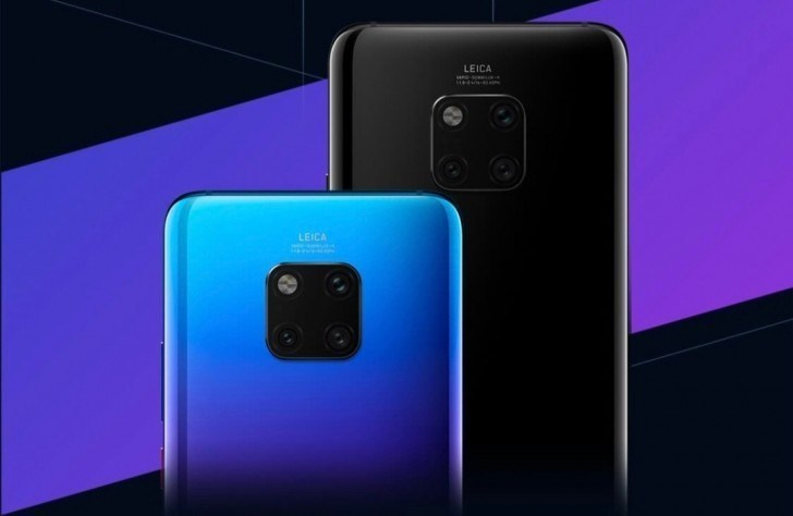 Huawei Mate 20 Pro har olika bra grepp beroende på färg