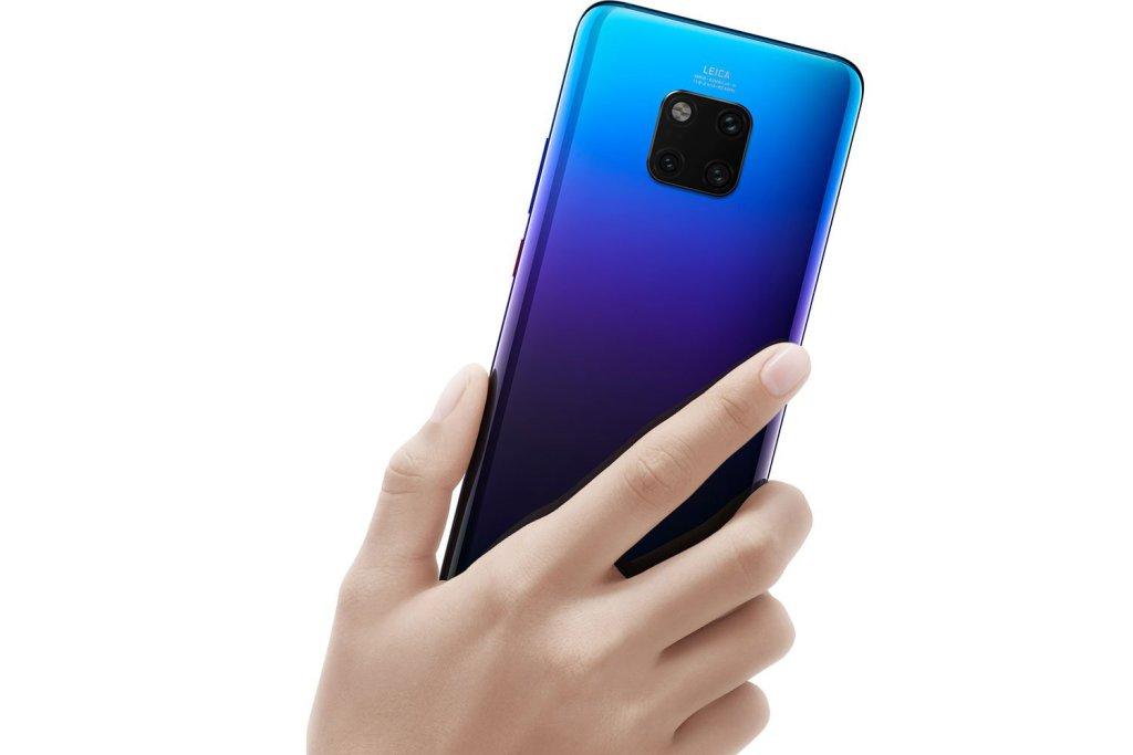 Huawei Mate 20 Pro erhåller sin första uppdatering