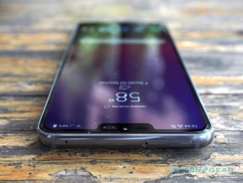 LG tar patent på kameran under displayen