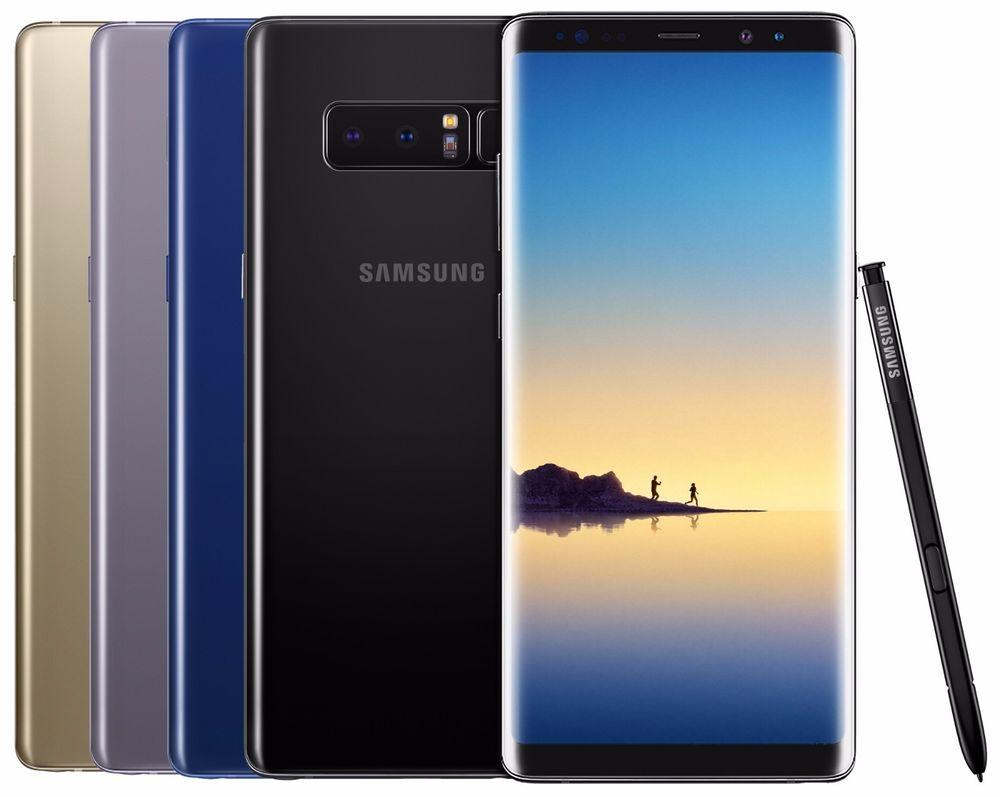 Samsung Galaxy Note 8 erhåller ny uppdatering