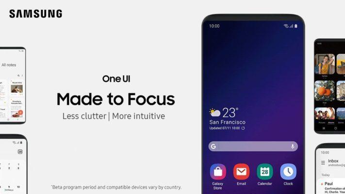 Samsung One UI landar i tillverkarens medlemsapp
